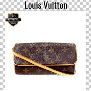 Louis Vuitton crossbody bag pouchette twin pm mini